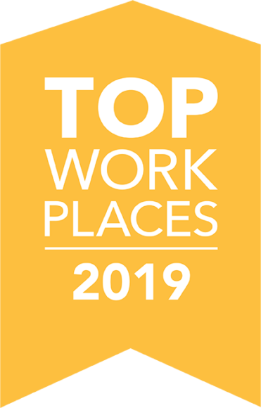 top workplace award 2019