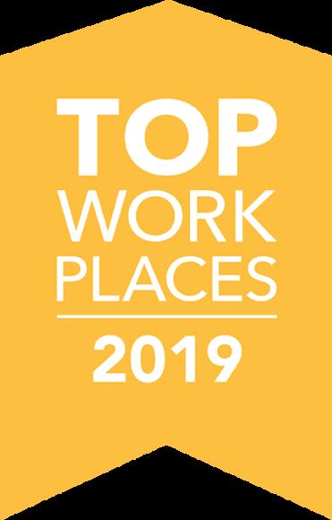 top workplace award 2019